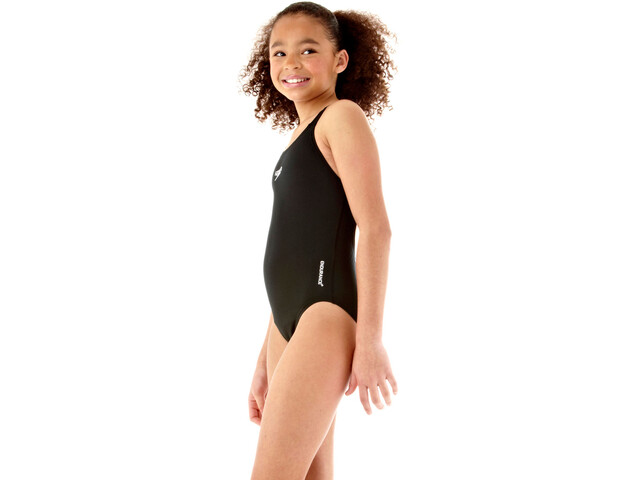 speedo Essential Endurance+ Medalist Swimsuit Jenter black